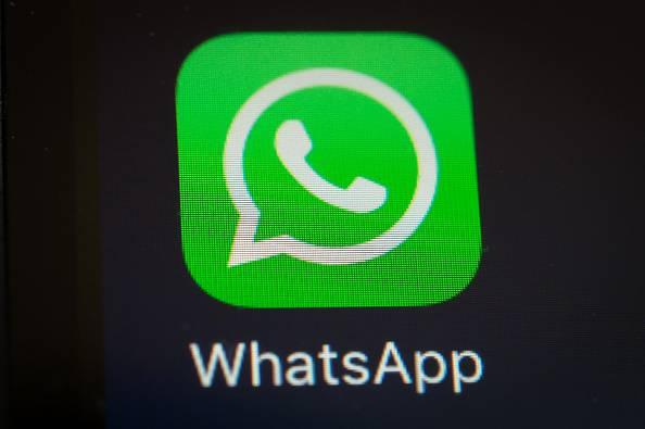 WhatsApp      (Photo credit should read YASUYOSHI CHIBA/AFP/Getty Images)