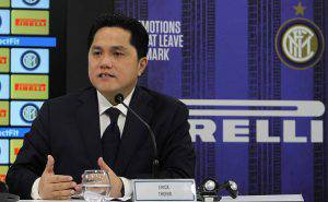 Erick Thohir  (Photo by Marco Luzzani - Inter/Inter via Getty Images)