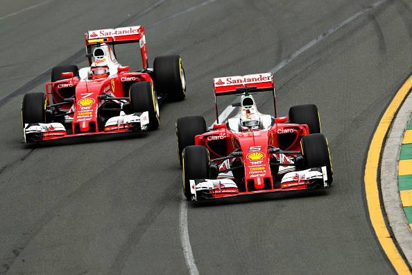 Ferrari  (Photo by Mark Thompson/Getty Images)