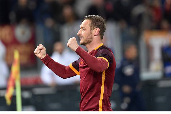 Francesco Totti (Photo by Claudio Pasquazi/Anadolu Agency/Getty Images)