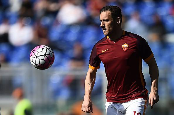 Francesco Totti (Photo credit should read FILIPPO MONTEFORTE/AFP/Getty Images)