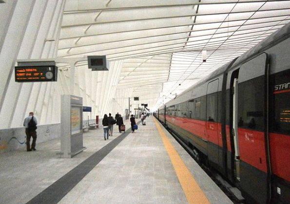 La stazione di Reggio Emilia (CC-BY-SA-4.0)