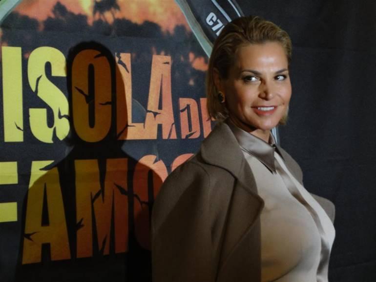 Simona Ventura all'Isola dei famosi