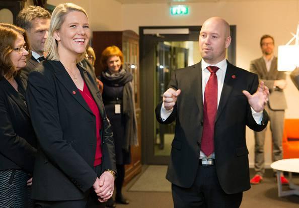 Il ministro Sylvi Listhaug (HAAKON MOSVOLD LARSEN/AFP/Getty Images)