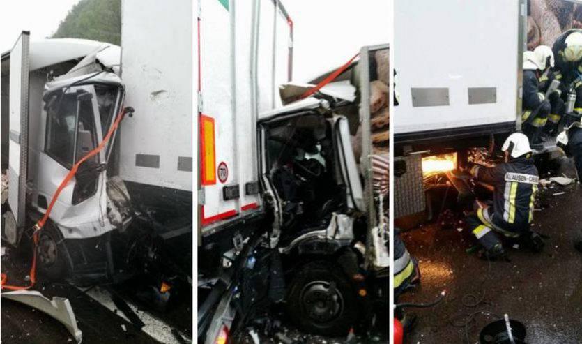 La drammatica scena dell'incidente (Web)