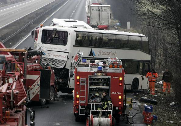 Incidente di autobus (repertorio, Ralph Orlowski/Getty Images)