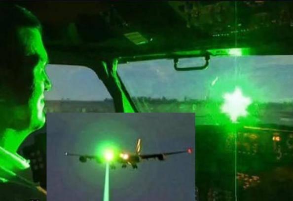 Laser contro gli aerei (websource)