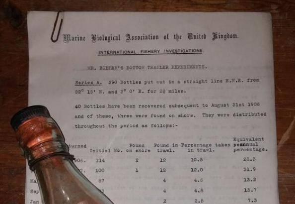 Messaggio nella bottiglia (foto dal web)