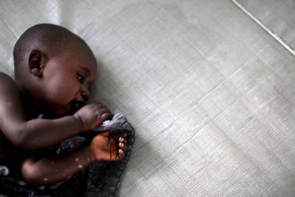 Bimbo di colore (Uriel Sinai/Getty Images)