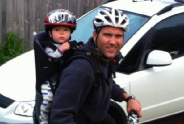 Pete Keach e il suo bambino (websource)