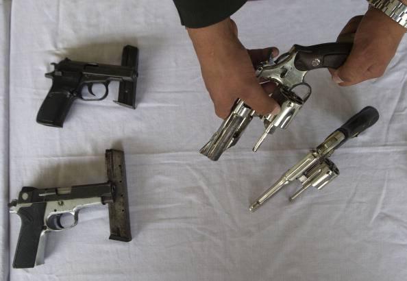 Pistole (RAUL ARBOLEDA/AFP/Getty Images)