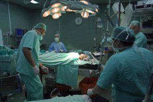 Sala operatoria (David Silverman/Getty Images)