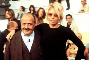 Maria De Filippi e Maurizio Costanzo (foto dal web)