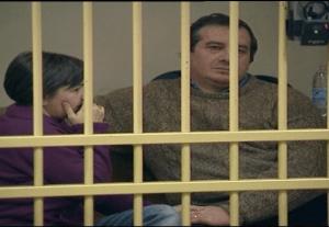 Rosa Bazzi e Olindo Romano (ritaglio video)
