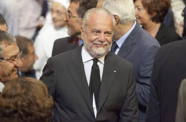 Aurelio De Laurentiis (Photo credit should read CARLO HERMANN/AFP/Getty Images)