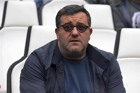 Mino Raiola (Photo by AMA/Corbis via Getty Images)
