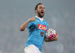 Gonzalo Higuain (Photo credit should read CARLO HERMANN/AFP/Getty Images)