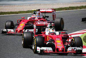 Sebastian Vettel e Kimi Raikkonen  (Photo by Urbanandsport/NurPhoto via Getty Images)