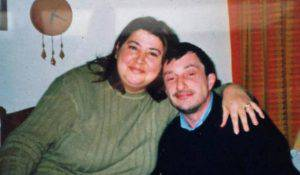 Guerrina e il marito Mirco (Web)