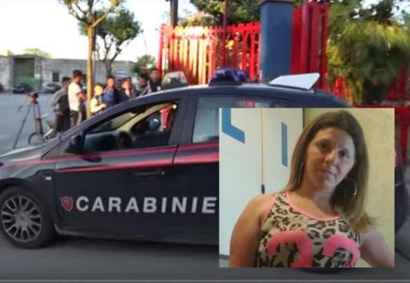 L'arresto di Marianna Fabozzi (ritaglio video)