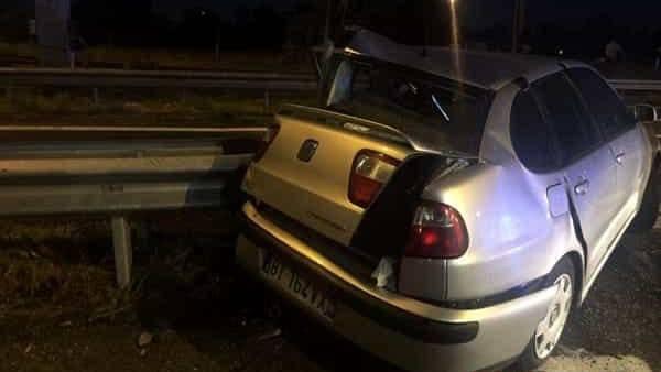 L'auto è stata recuperata dal Soccorso Agliata di Monza-2