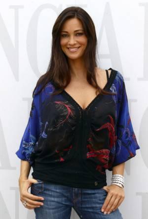 Manuela Arcuri . (Photo by Vittorio Zunino Celotto/Getty Images for Lancia)