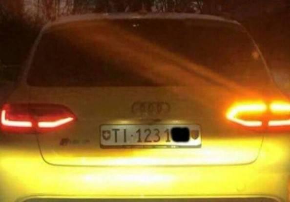 Audi gialla, fermato il presunto autista: è un albanese di 36 anni