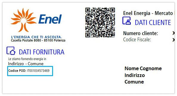 Bolletta Enel fonte websource