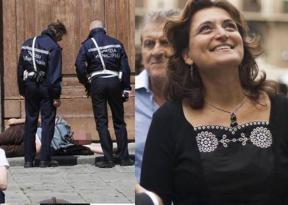 Degrado a Firenze e l'assessore Bettini (foto dal web)