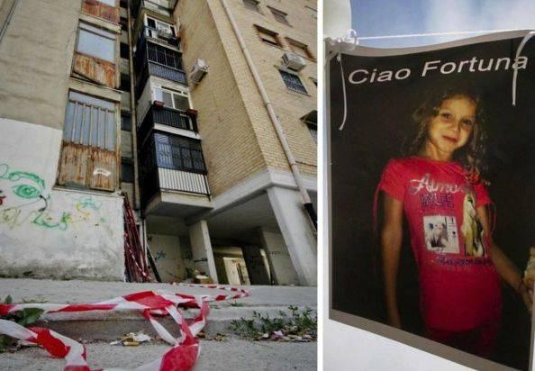 Il condominio degli orrori e la piccola Fortuna (foto dal web)