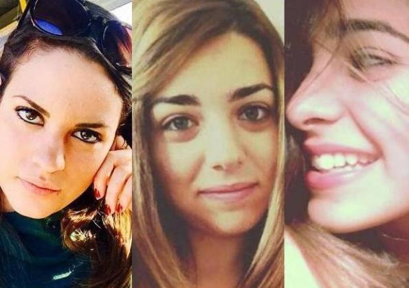 Le tre vittime del drammatico incidente (foto dal web)