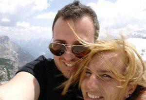 Mattia Di Teodoro e Michela Noli (Facebook)
