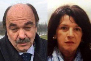 L'avvocato Balduin e Isabella Noventa (foto dal web)