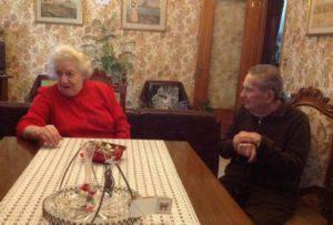 I genitori di Gloria Rosboch (foto dal web)