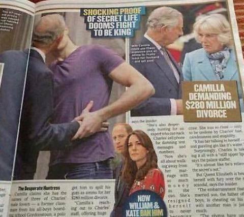 Il bacio gay del Principe Carlo: scandalo a corte