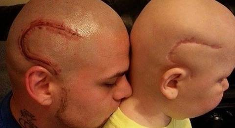 L'amore del padre per il figlio non conosce limiti: ecco cosa ha fatto -FOTO