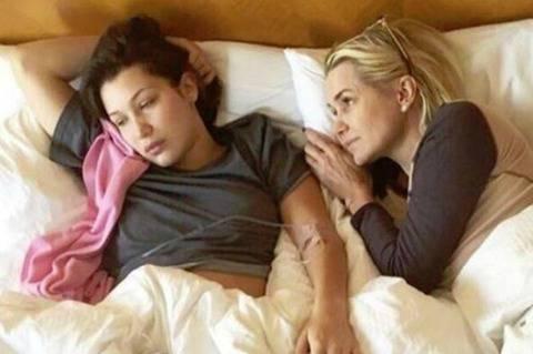 Bella Hadid e la madre affette dalla patologia di Lyme