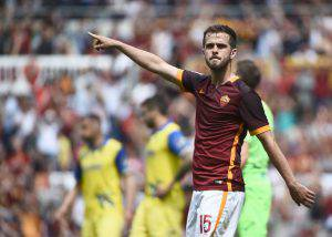 Miralem Pjanic (Photo credit should read FILIPPO MONTEFORTE/AFP/Getty Images)