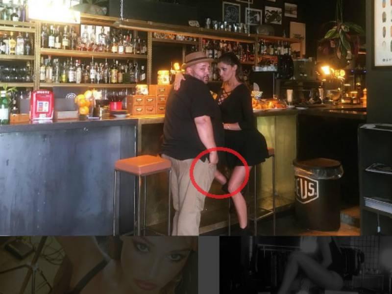 Belen Rodriguez completamente nuda sui social