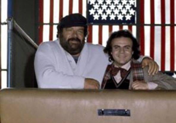 Bud Spencer e Jerry Calà (Facebook)
