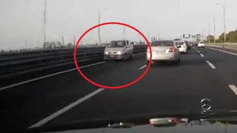 93enne contromano in autostrada si schianta contro due auto
