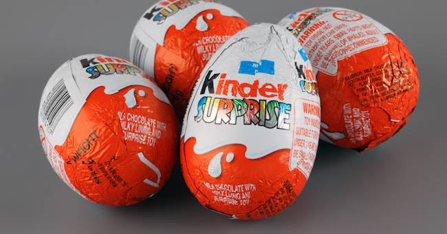 """""""Stop alla vendita dell'uovo kinder e dell'Happy Meal"""": è già in vigore"""