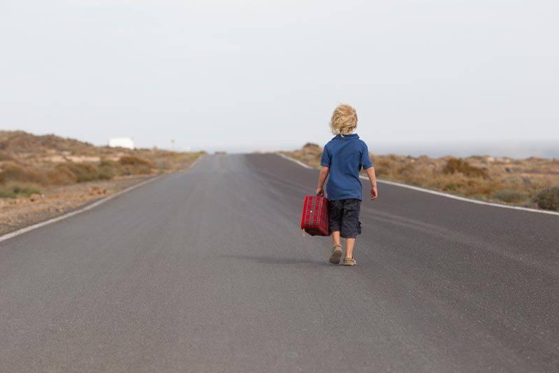 Bambino scappa dall'asilo, il motivo è bellissimo