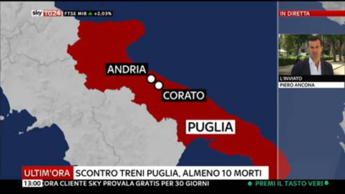 Scontro tra treni in Puglia: le prime immagini della strage (Foto Gallery)