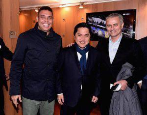Ronaldo, qua con Thohir e Mourinho (Photo by Claudio Villa - Inter/Inter via Getty Images)