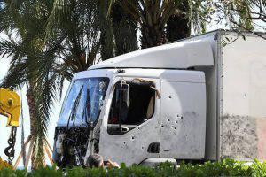 Il tir guidato da Mohamed Lahouaiej Bouhlel (BORIS HORVAT/AFP/Getty Images)