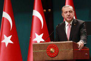 Il presidente Erdogan (ADEM ALTAN/AFP/Getty Images)