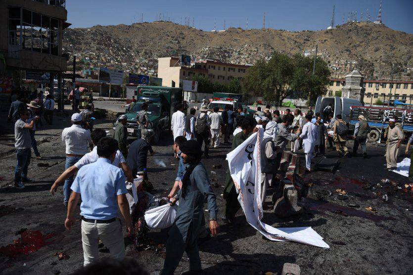 Afghanistan, Kabul: 61 morti in attentato a Kabul