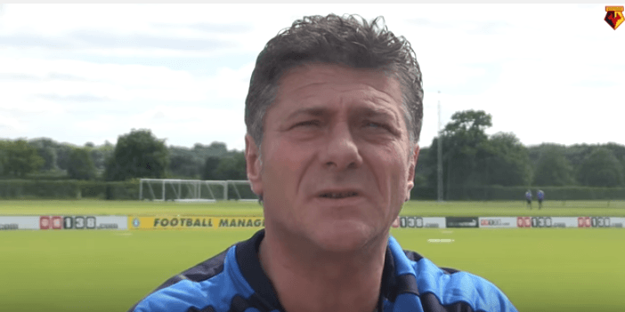 Watford, l'inglese tutto da ridere di Walter Mazzarri VIDEO