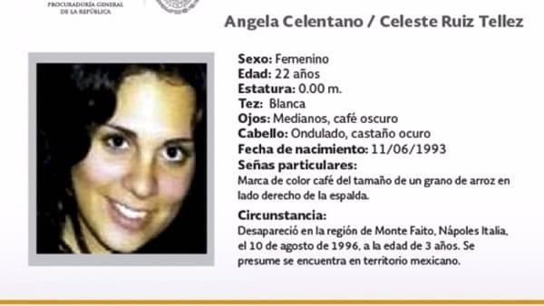 Angela Celentano: la notizia arrivata dal Messico  è ora ufficiale